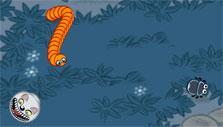 Doodle Grub: Avoiding enemies