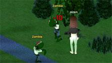 Chit Chat City: fighting zombies