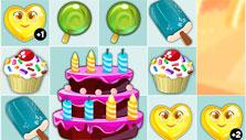 Cake level in Candy Valley